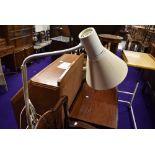 A modern reading lamp