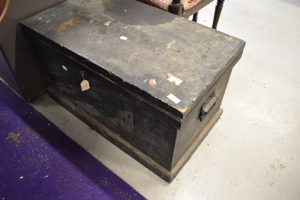 A cabinet makers or woodworkers tool chest having sectioned inner drawers and compartments with some