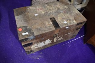 An industrial style strong box