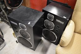 A pair of Yamaha NS-1000 monitor speakers
