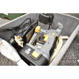 A battery powered circular saw by Power G