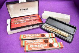 Five Parker pens and similar Primavera