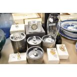 A selection of fine glass wares including Swarovski crystal and Royal Doulton most being boxed