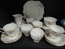 A part tea service by Gladstone china in the Laurentian design