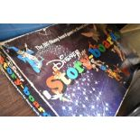 A vintage childrens board game by Disney Story Boards