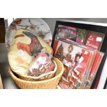 A selection of Chirstmas themed items including table mats