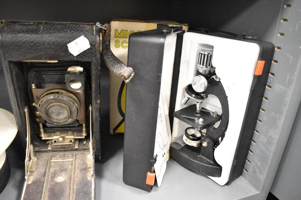 An Autographic Kodak model C no. 3A camera