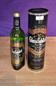 A bottle of Glenfiddich Single Malt Scotch Whisky 70cl 40% vol in card tube