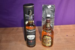A bottle of Chivas Regal 12 Year Old Blended Scotch Whisky 75cl 43%GL, label on reverse Tax Free