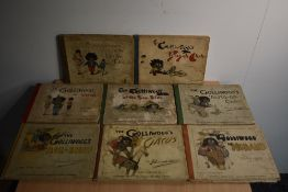 Children's. Florence K. Upton - 'golliwogg' story books. Verses by Bertha Upton. Published by