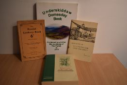 Local History. Uncommon publications; small selection. Includes; The Kendal Cookery Book (1951);