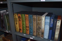 Folio Society. Travel and related. All in slipcases. Includes; Henry Morton Stanley; T. E. Lawrence;