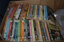Literature. Charteris, Leslie - The Saint. A carton of novels, majority paperback. 44 titles in