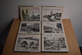 Wainwright. Sketchbook selection. Includes both Furness Sketchbooks, plus those for the Wyre;