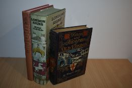 London History. Shelley, Henry C. - Inns and Taverns of Old London. Boston: 1909. 1st US;
