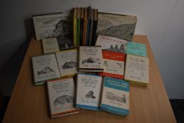 Wainwright. Pictorial Guides and similar. Includes; books 1-7 in early impressions without dust