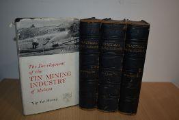 Mining. Boulton, W. S. - Practical Coal-Mining. Gresham Publishing Co. 1910. Three volumes. Original