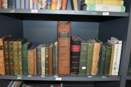 Botany and related. A small collection. Includes; Parkinson, John - Theatrum Botanicum. No date,