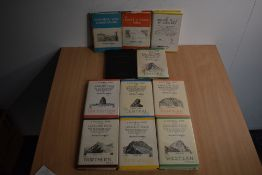 Wainwright. Pictorial Guides. Includes; Book One - Eastern Fells, 1955, 1st edition; also Books 2-