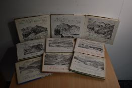 Wainwright. Lakeland Sketchbooks, nos. 1-5; Lakeland Mountain Drawings, nos. 1-3; and Three