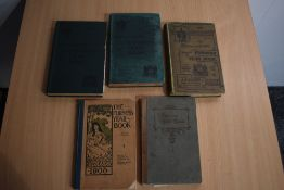 Local History. Furness Year Books. Five volumes, dates as follows: 1899; 1900 (x2); 1905; 1906.