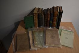 Geology and Earth Science. A selection, includes; Miller, Hugh - The Old Red Sandstone. Edinburgh: