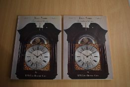 Local History/Horology. Jonas Barber: Clockmaker of Winster. 1979. Pictorial card covers. Two