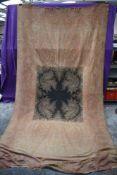 A Victorian Paisley wool crinoline shawl, around 1860s/1870s.