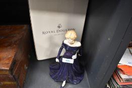 A figure study of Princess Diana by Royal Doulton having box