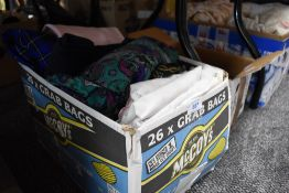 A mixed lot of vintage and retro blouses, skirts and cord trousers(with tags) and more.