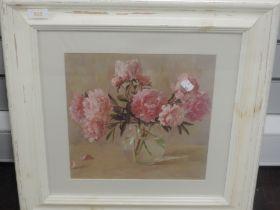A print, after Chuhcav, still life, 28 x 28cm, plus frame and glazed