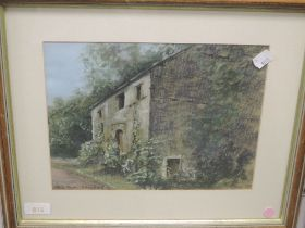 A pastel sketch, Helen, Old Mill Sandside, signed and dated (19)98, 20 x 27cm, plus frame and