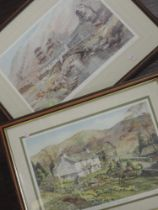 Two Ltd Ed prints, after Judy Boyes, Daffodil Time Troutbeck, signed, num 143/850, 25 x 39cm, and