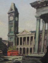 An oil painting, Norman Brand, Birmingham City, signed 60 x 42cm, plus frame