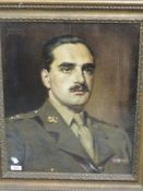 An oil painting, Wilfred Higgins, portrait study, Charles Nickel, signed and dated 1950, 50 x