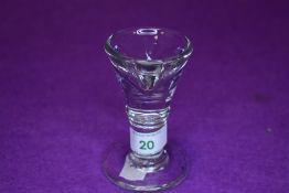A Victorian ice cream glass penny lick
