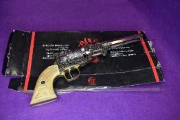 A replica gun or hand pistol by Denix American civil war navy revolver