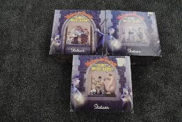 A set of three limited edition Card Inc Aardman Animations 2006 Wallace & Gromit The Curse Of The