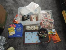 A collection of Olympic and Commonwealth Games Memorabilia including various Pins, Hats, Stamps,