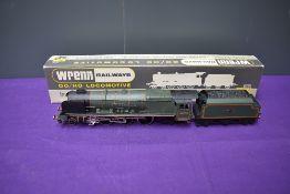 A Wrenn 00 gauge 4-6-2 BR Loco & Tender, City of Birmingham 46235, boxed W2228