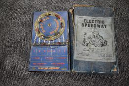 A BGL London Electric Speedway Game, patent no 377613, The Greatest Game Of Chance Of All Time!,