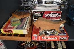 A selection of vintage Toys & Games including L'Attaque, Smuggle, Quotations, Radio Controlled