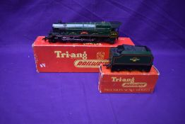 A Triang 00 gauge 4-6-2 Loco & Tender, Princess Elizabeth 46201, both items boxed R53 & R31 and A