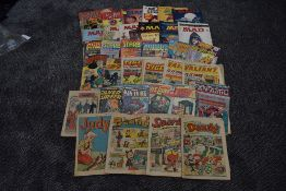 A collection of 1960's and later Comics and Magazines to include, 1969 Tiger, 1969 Tiger and