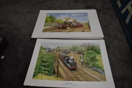 Twenty Five Limited Edition Prints after J G Robinson, Those Were The Days, Last Of The Summer Wine,