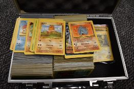 A large collection of Pokemon Cards, mainly unlimited, including 5 Trainer 1st edition cards, Energy