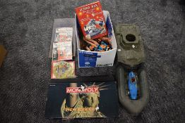 A selection of mixed toys including a Vanwall diecast Racing Car in blue with red seat, Cherilea