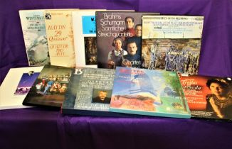 A selection of Classical Box Sets - condition is VG+ with most of the vinyl being in Ex