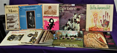 A ten album of World Music sounds - the market for world music records is starting take off ,