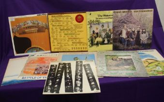 A ten album lot of Folk / Folk Rock albums with some interesting titles on offer here